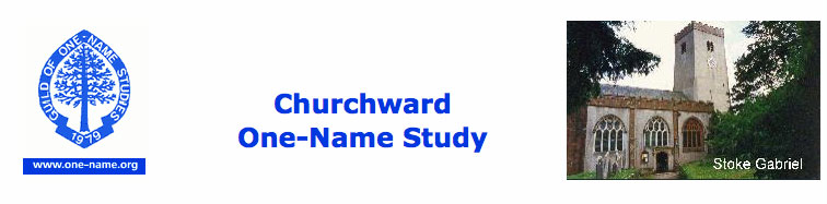 Guild of One Name Studies: Churchward Home Page